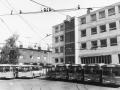 1968 auf dem alten Betriebshof in der Talstraße